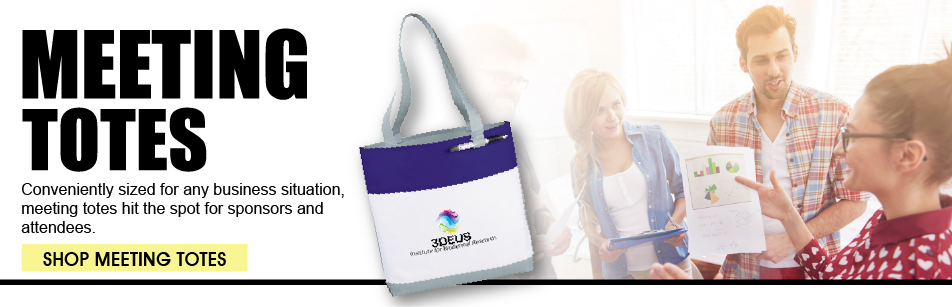 Promotional Meeting Tote Bags