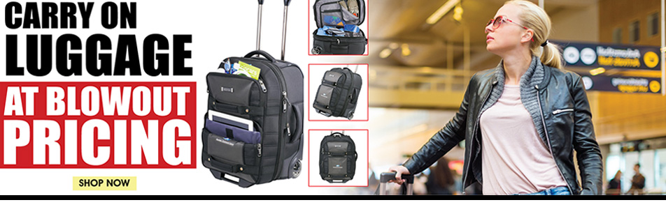 Promotional Carry On Luggage Bags