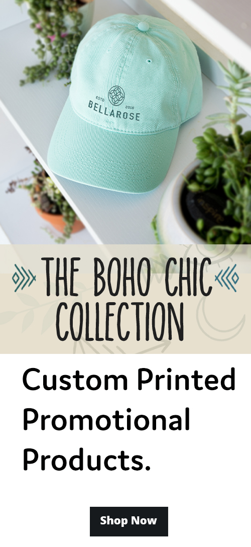 BOHO Chic Collection Promotional Email Mobile Version