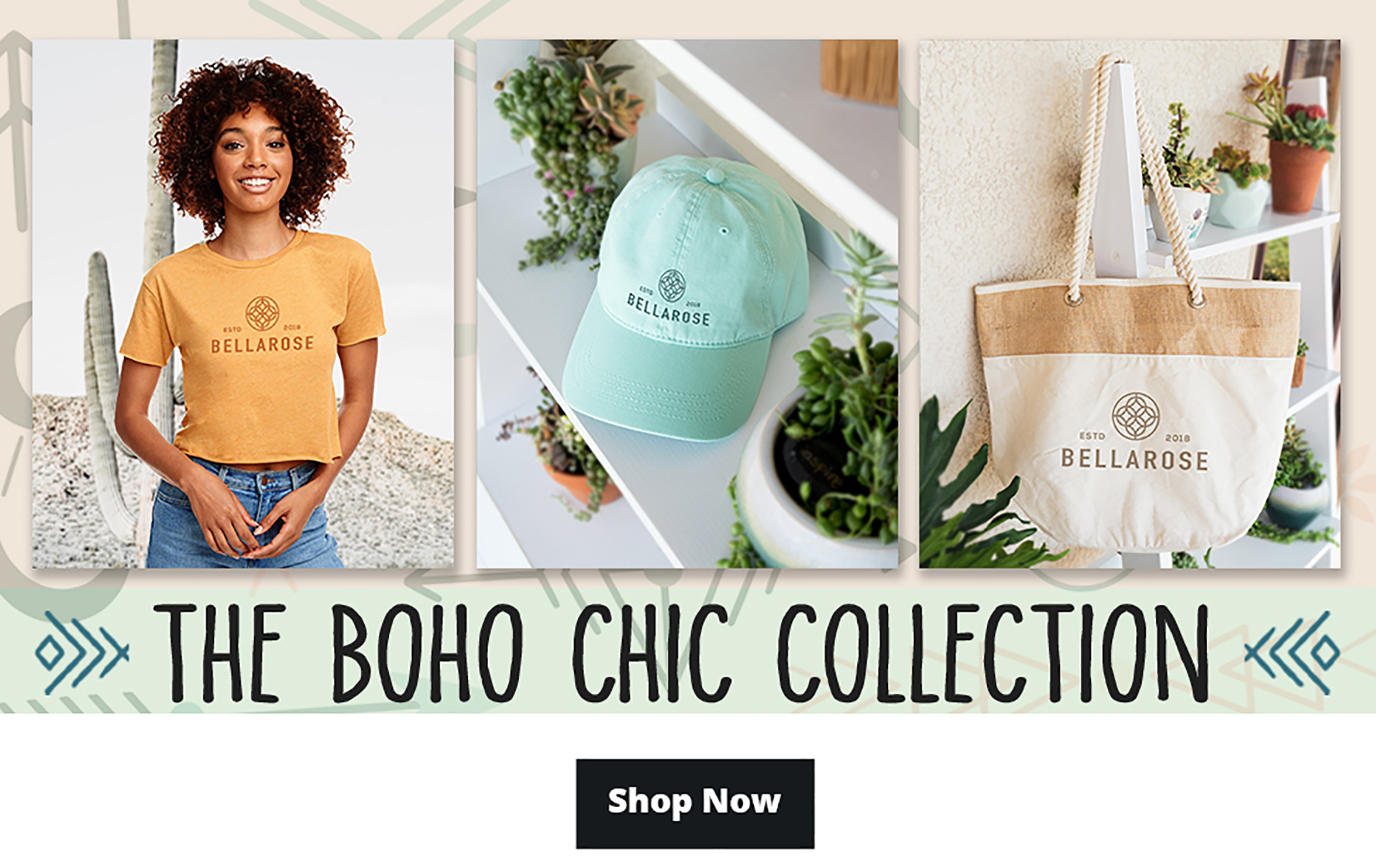 BOHO Chic Collection Collection Promotional Email Web Version