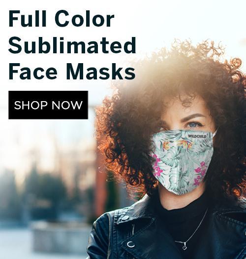 Sublimated Face masks