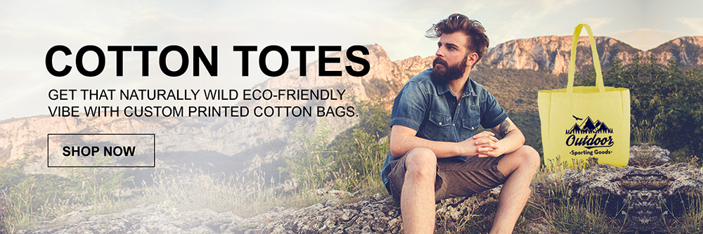 Promotional Eco-Friendly Cotton Totes Image Slider
