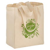758edef7126 Small Natural Cotton Canvas Tote Bag