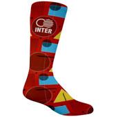 Sublimated Athletic Crew Length Socks