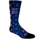 Sublimated Athletic Crew Length Socks | Bagmasters