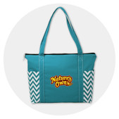 Zippered Top Closure Totes