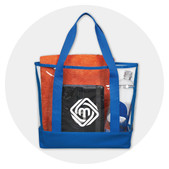 Clear Vinyl Totes